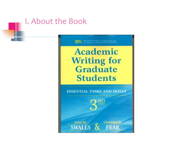 Ppt Book Report Academic Writing For Graduate Students Essential