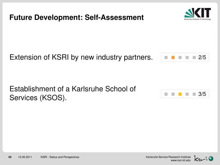 Future Development: Self-Assessment