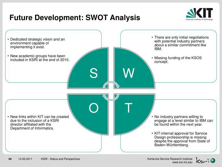 Future Development: SWOT Analysis