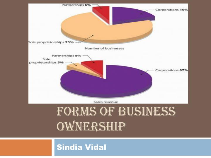 forms of business ownership n.