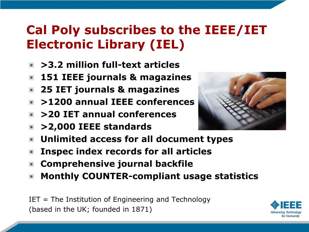 PPT - Career, Content, and Networking: Today's IEEE