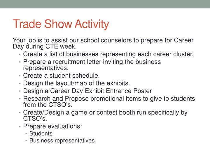 Trade Show Activity