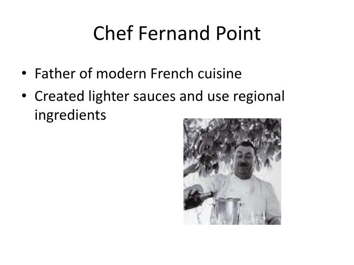 Chef Fernand Point