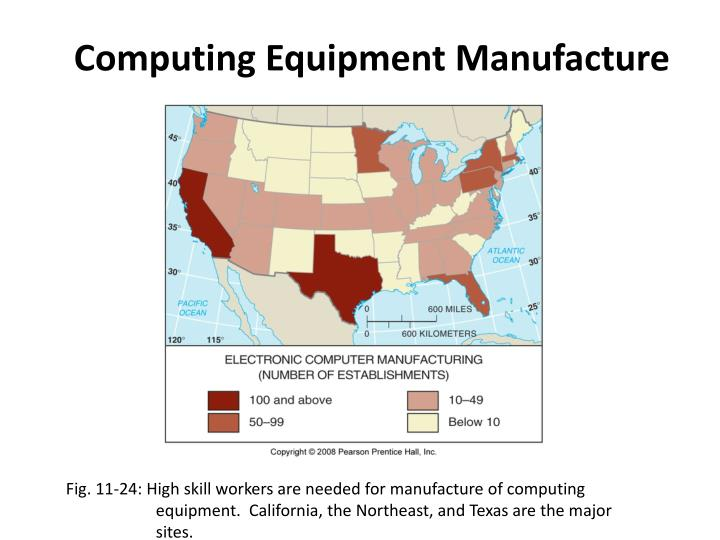 Computing Equipment Manufacture