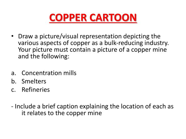 COPPER CARTOON