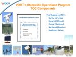 vdot s statewide operations program toc components