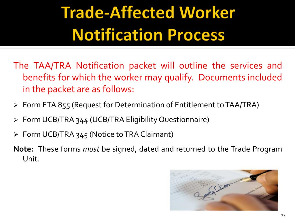 trade-affected-worker-notification-process-l Taa Application Form on for tranposta, lockheed electra,