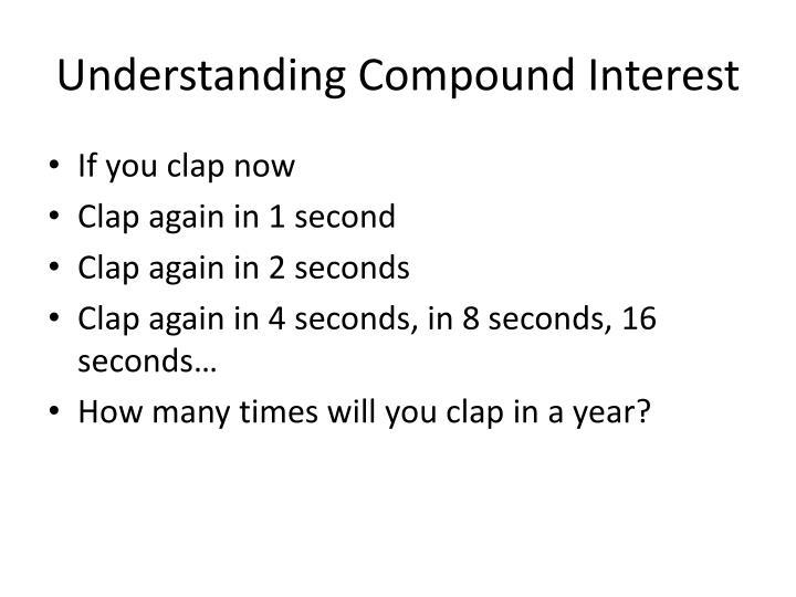 understanding compound interest essay