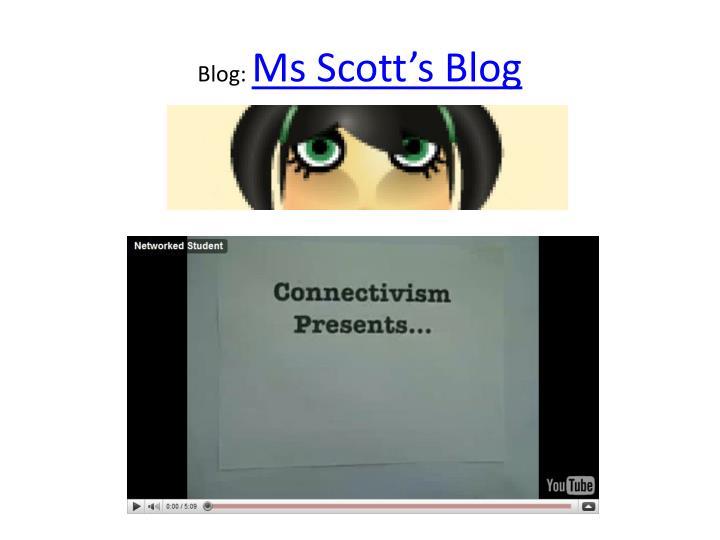 Blog: