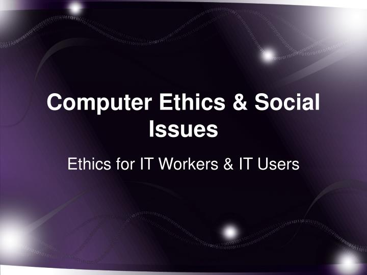 social and ethical issues in computing This engaging and thought-provoking textbook examines the ethical, social, and policy challenges arising from our rapidly and continuously evolving computing technology, ranging from the internet to the ubiquitous portable devices we use to access it.