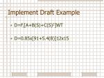 implement draft example9