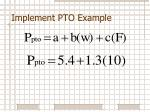 implement pto example2