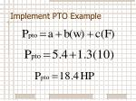 implement pto example3