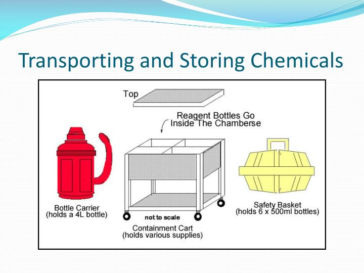 Transporting and Storing Chemicals