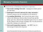 managing translation exposure1