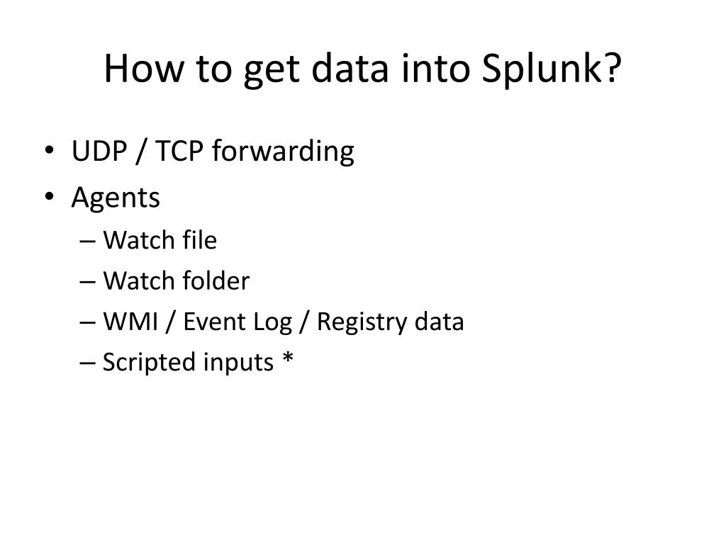 PPT - How Splunk Manages Our Junk PowerPoint Presentation - ID:1634440