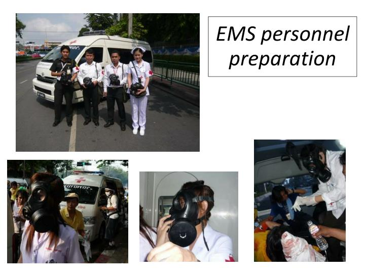 EMS personnel