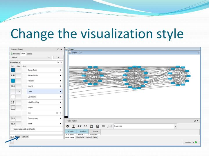 Change the visualization style