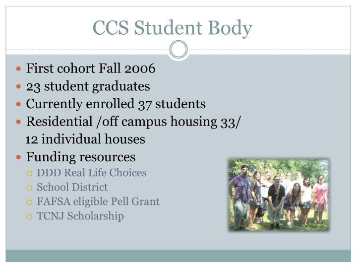 Ccs student body