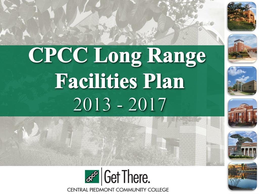 Ppt Cpcc Long Range Facilities Plan Powerpoint Presentation Id