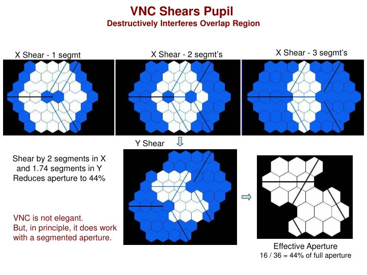 VNC Shears Pupil