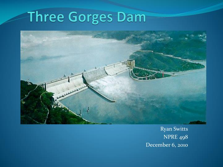 an introduction to the geography and history of the three gorges dam The three gorges dam photo by: damph, creative commons enormous and ambitious – these are just two of a few words to best describe china's three gorges dam.