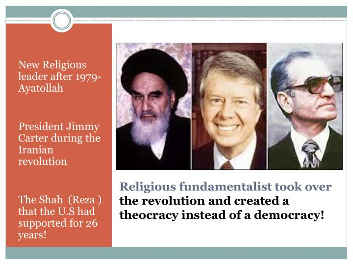 New Religious leader after 1979- Ayatollah