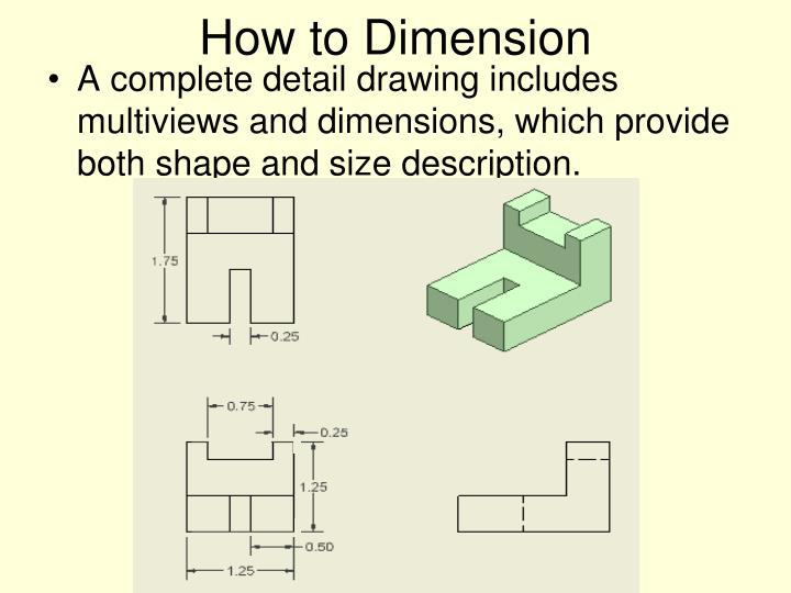 How to Dimension