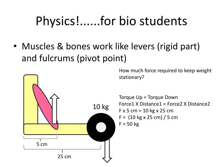 Physics!......for bio students