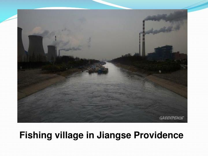 Fishing village in