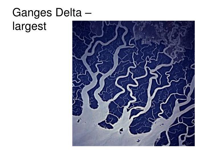 Ganges Delta –