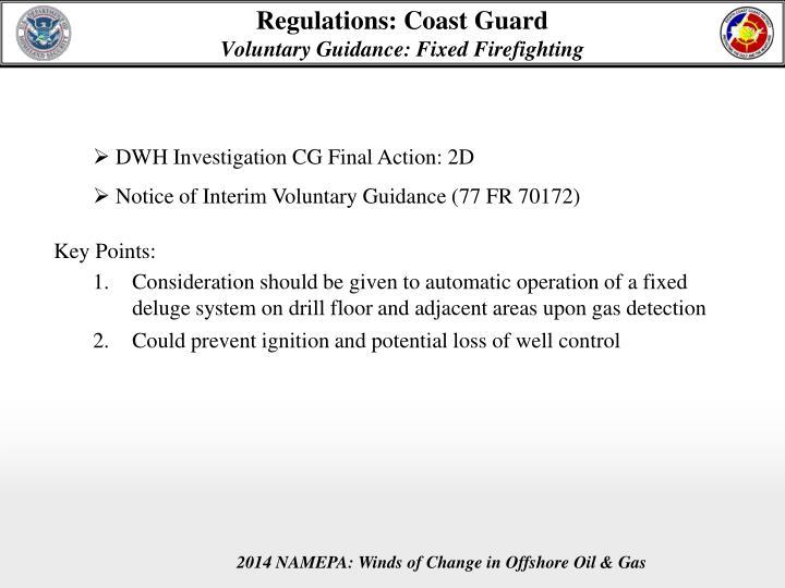 Regulations: Coast Guard