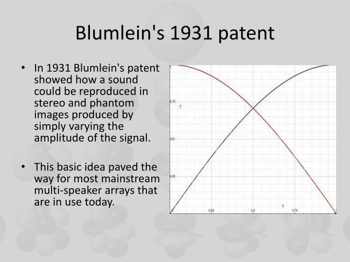 Blumlein's