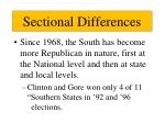 sectional differences3