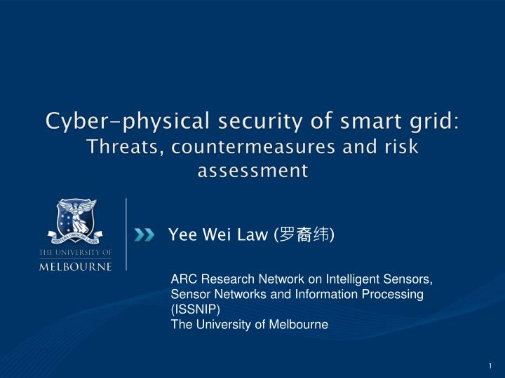 cyber physical security of smart grid threats countermeasures and risk assessment n.