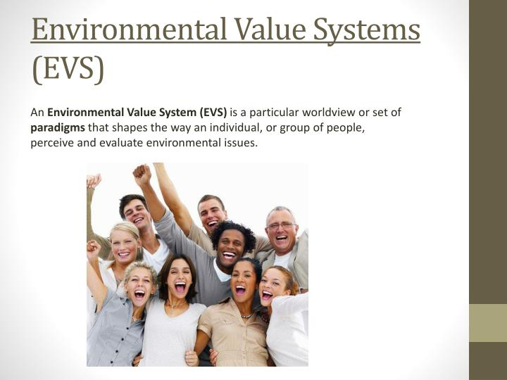 Environmental Value Systems