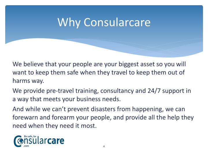 Why Consularcare