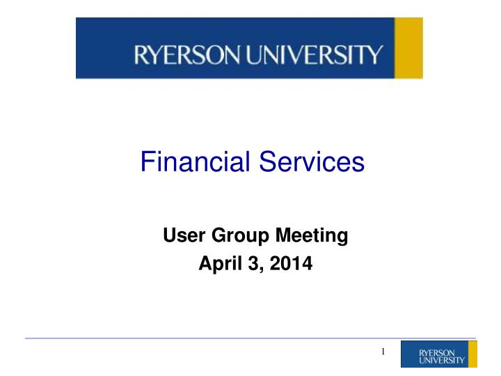 financial services n.