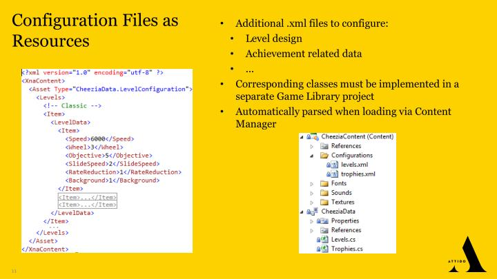 Configuration Files as Resources