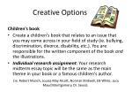 creative options2