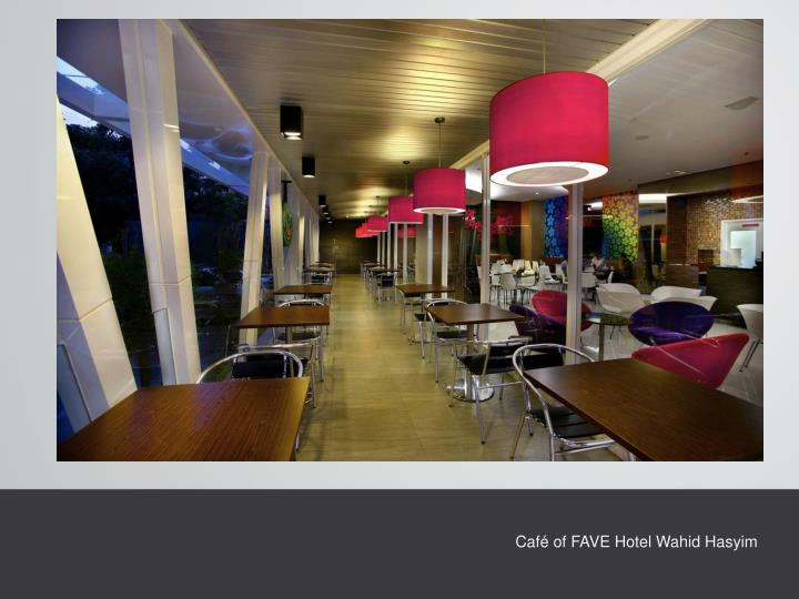 Café of FAVE Hotel Wahid
