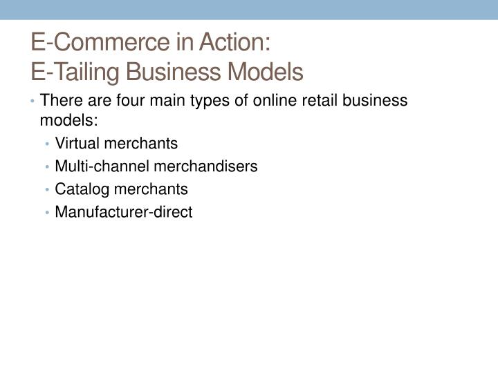 E-Commerce in Action
