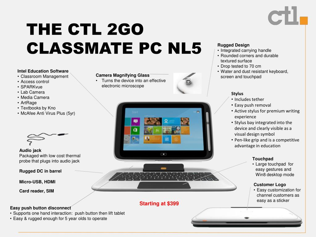 PPT - The CTL 2go Classmate Solution Overview PowerPoint