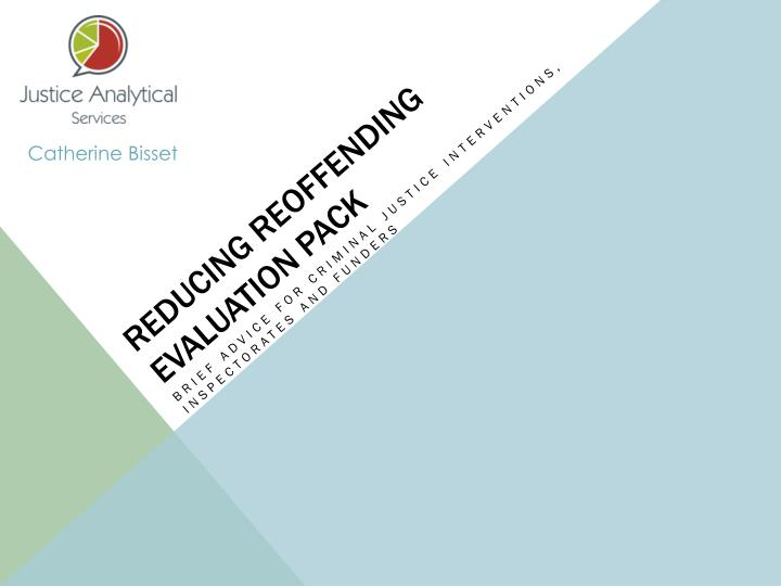 Reducing reoffending evaluation pack