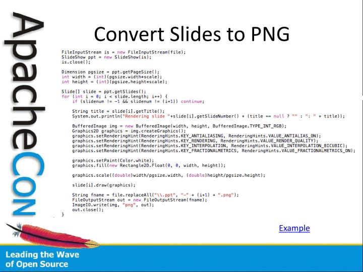 Convert Slides to PNG