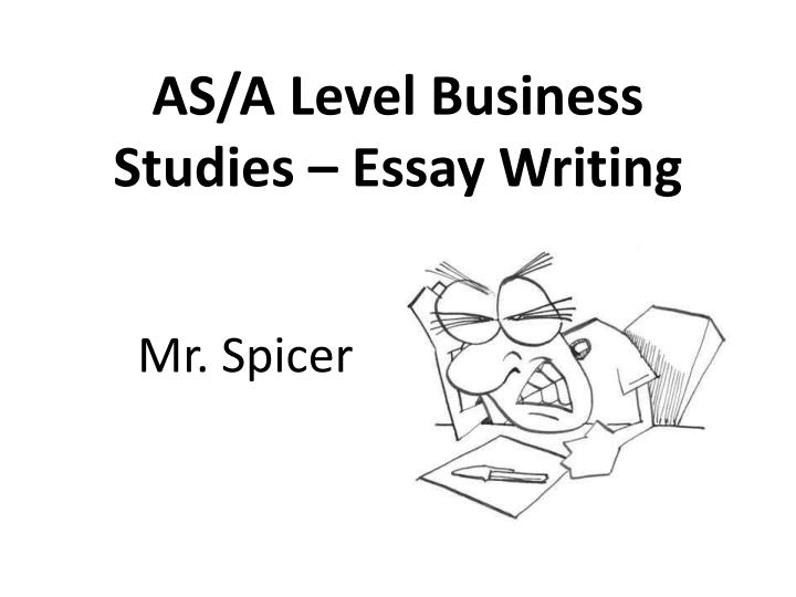 as a level business studies essay writing n.
