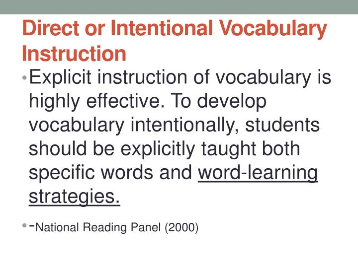 Ppt What Are Words Worth Vocabulary Instruction Worth Its Weight