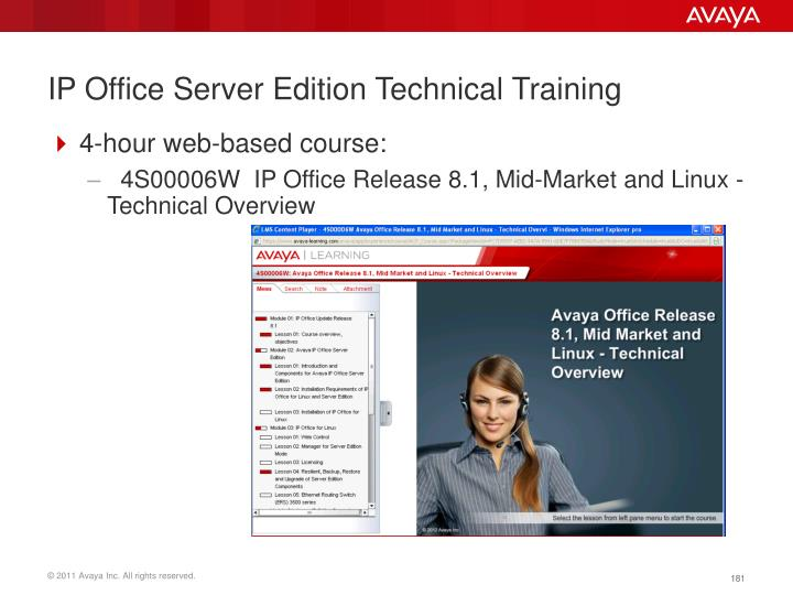 IP Office Server Edition Technical Training