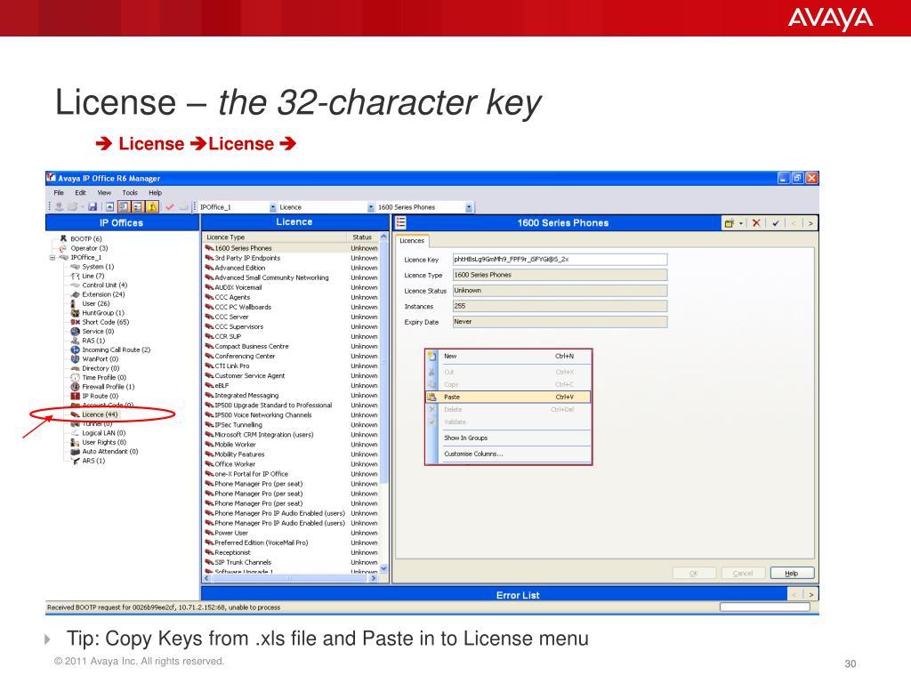 Avaya ipo marketing tools