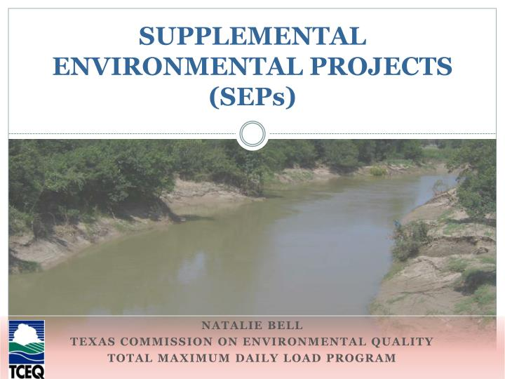 supplemental environmental projects seps n.